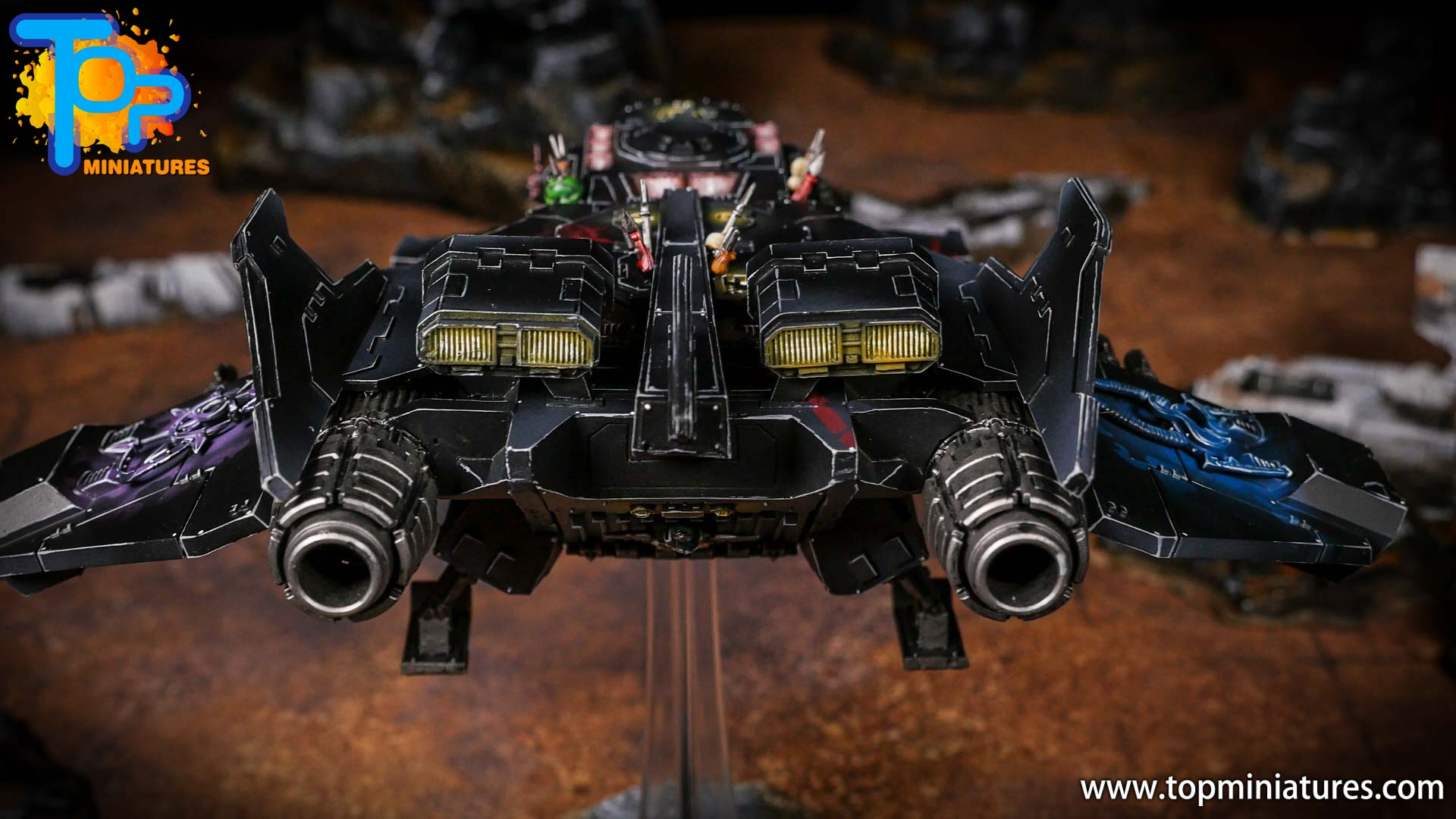 Converted Warhammer 40k Chaos Storm Eagle (4)