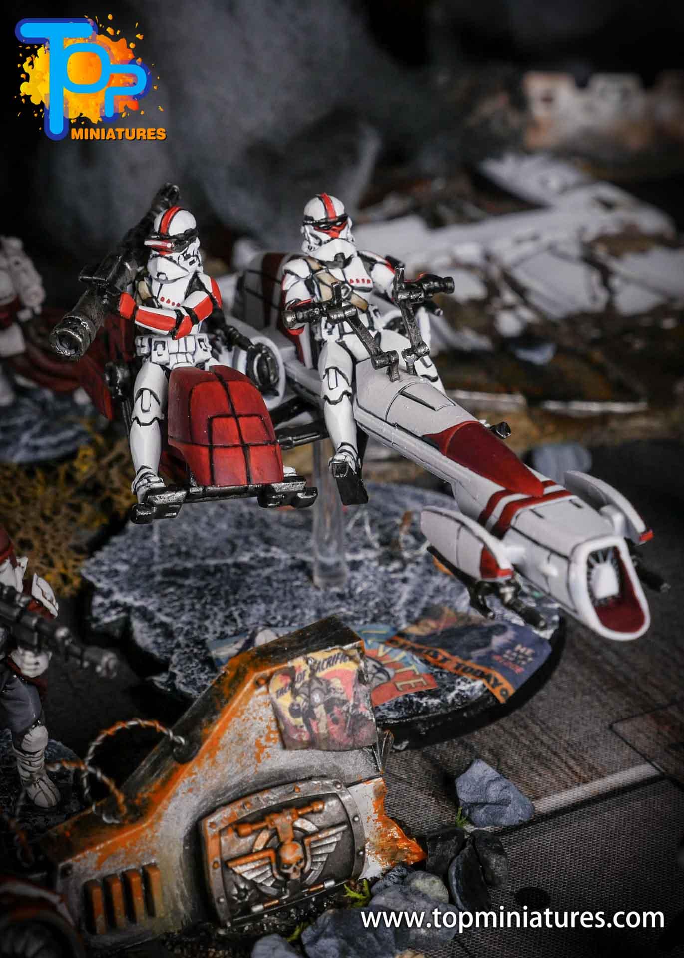 Star Wars Legion BARC Speeder (1)