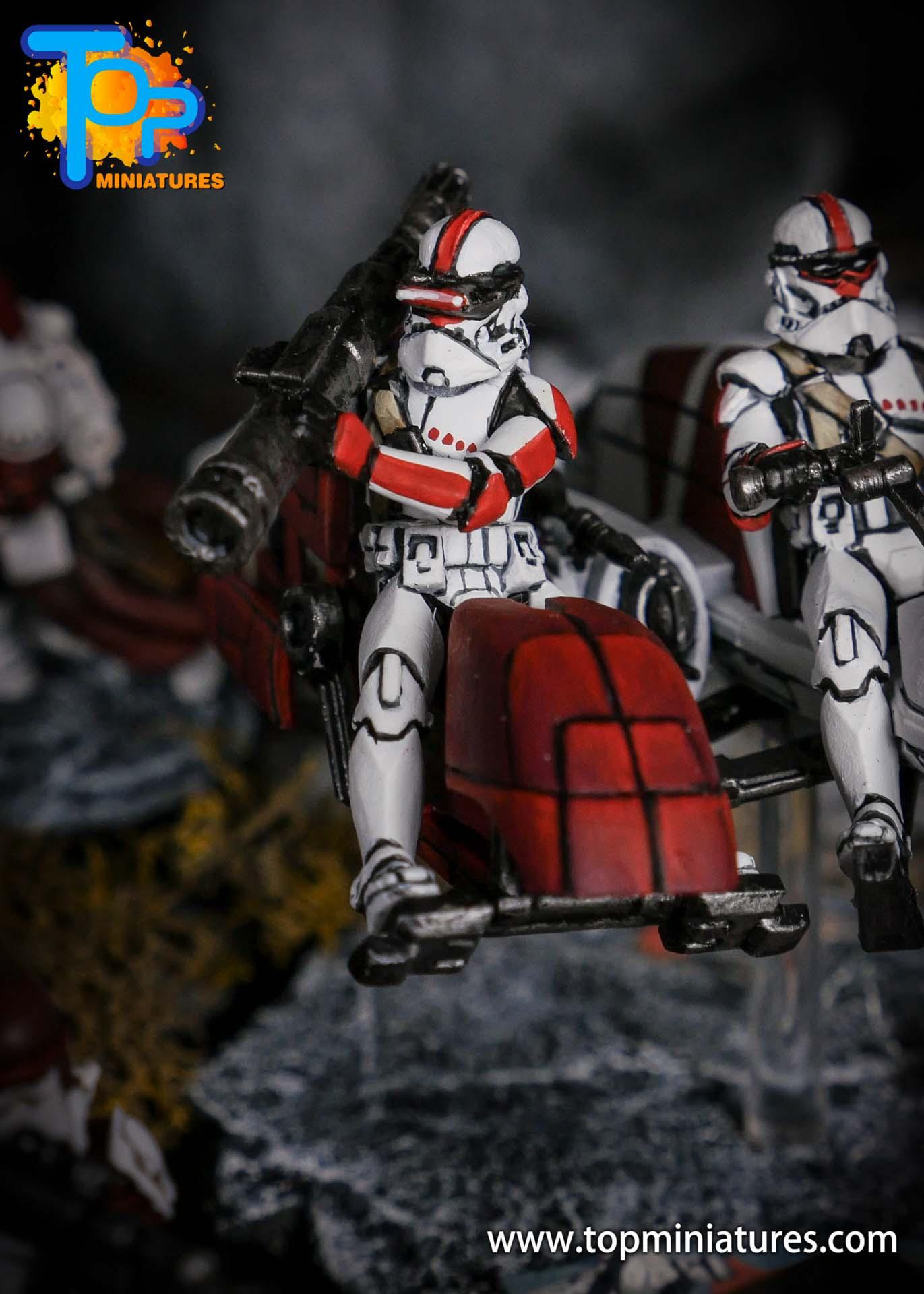 Star Wars Legion BARC Speeder (2)