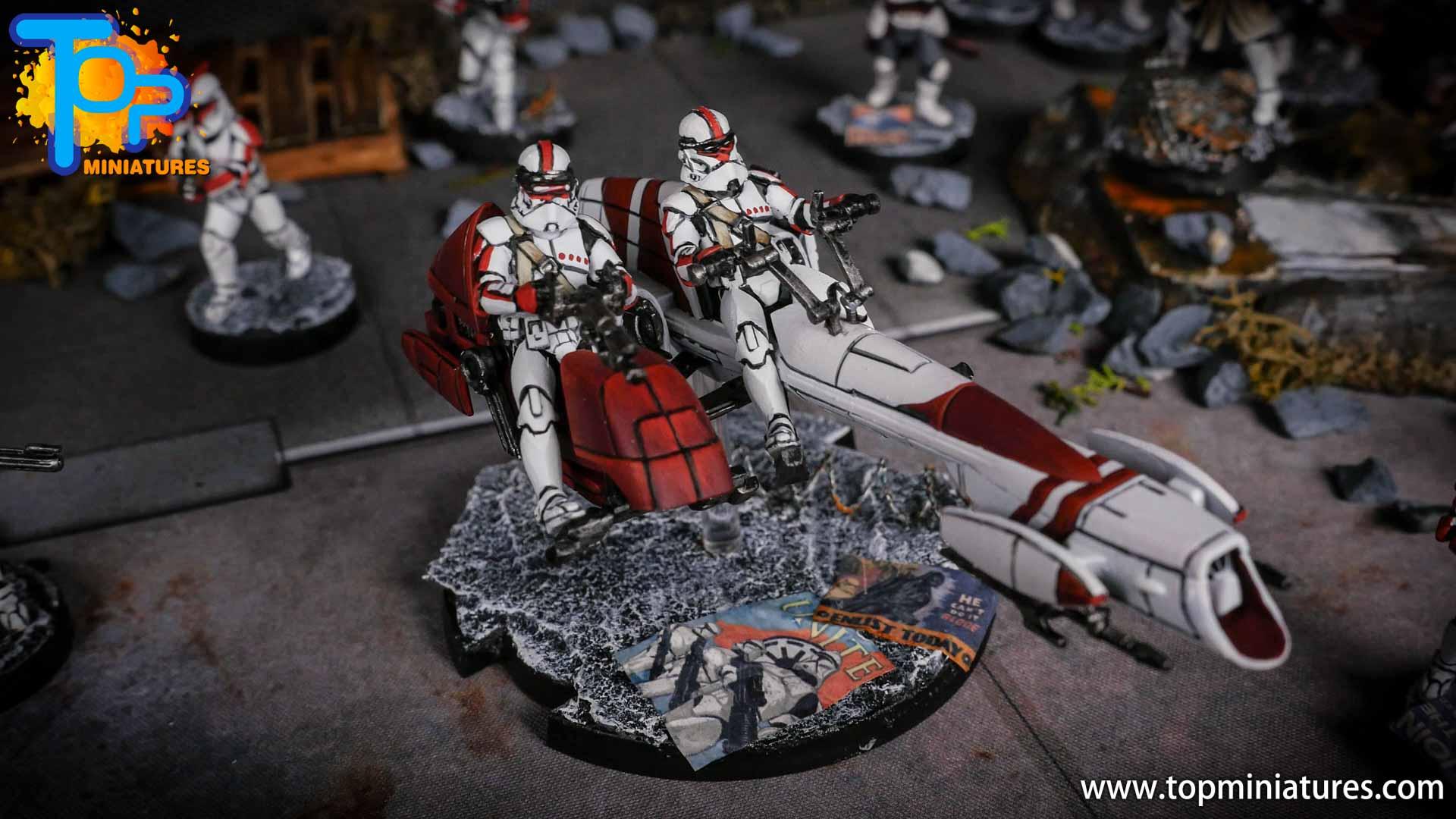 Star Wars Legion BARC Speeder (4)