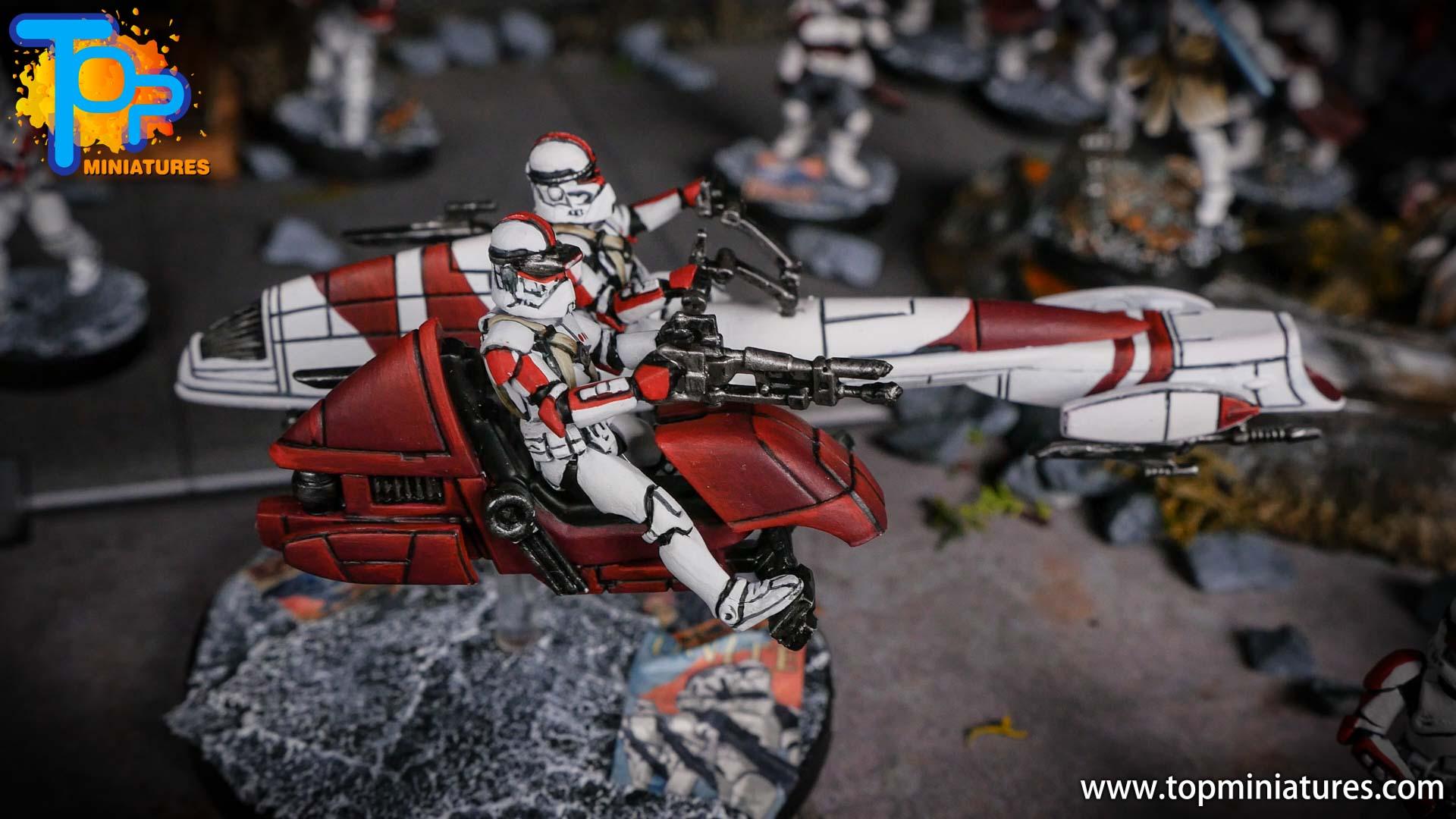 Star Wars Legion BARC Speeder (7)