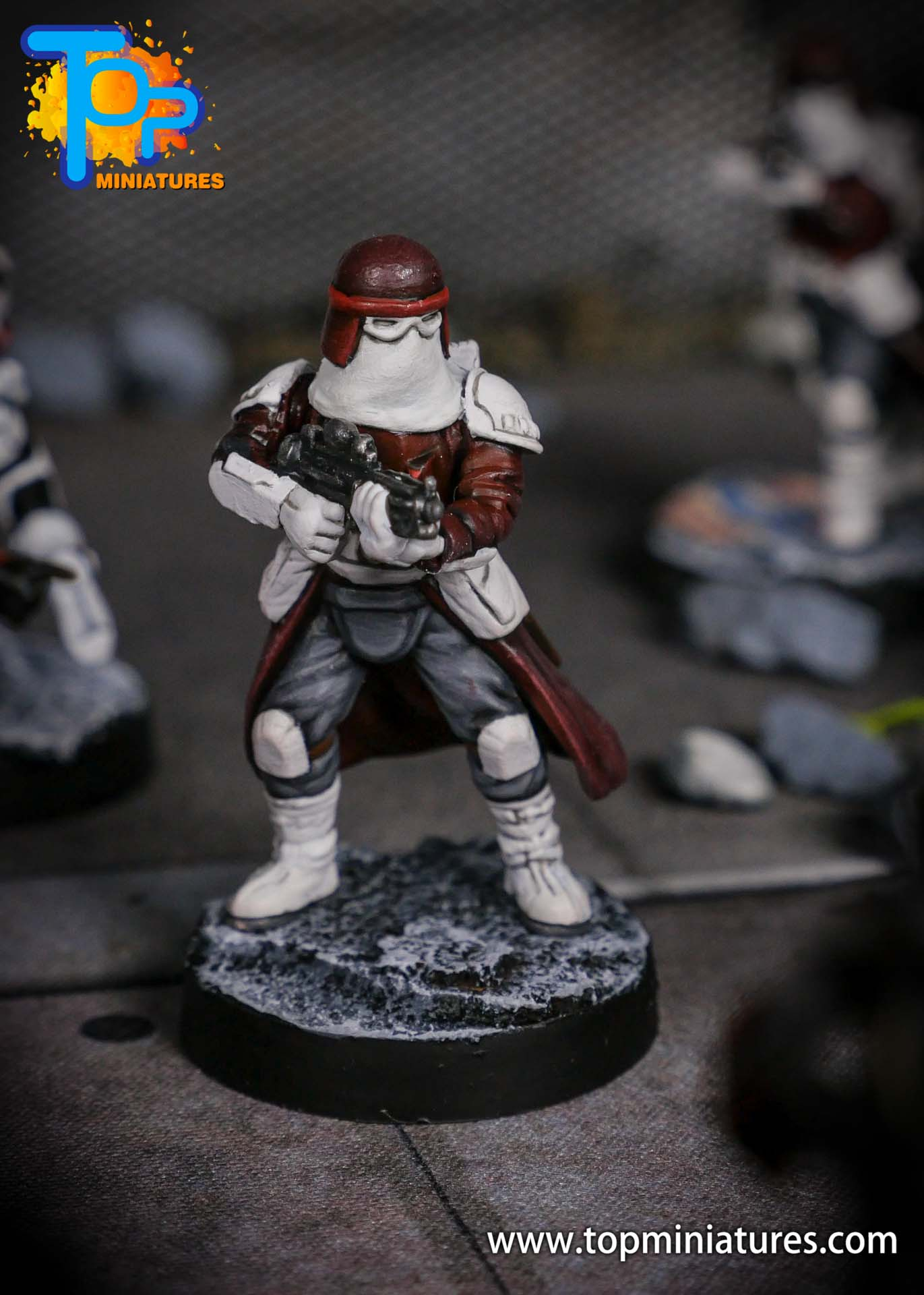 Star Wars Legion painted Snowtroopers (1)