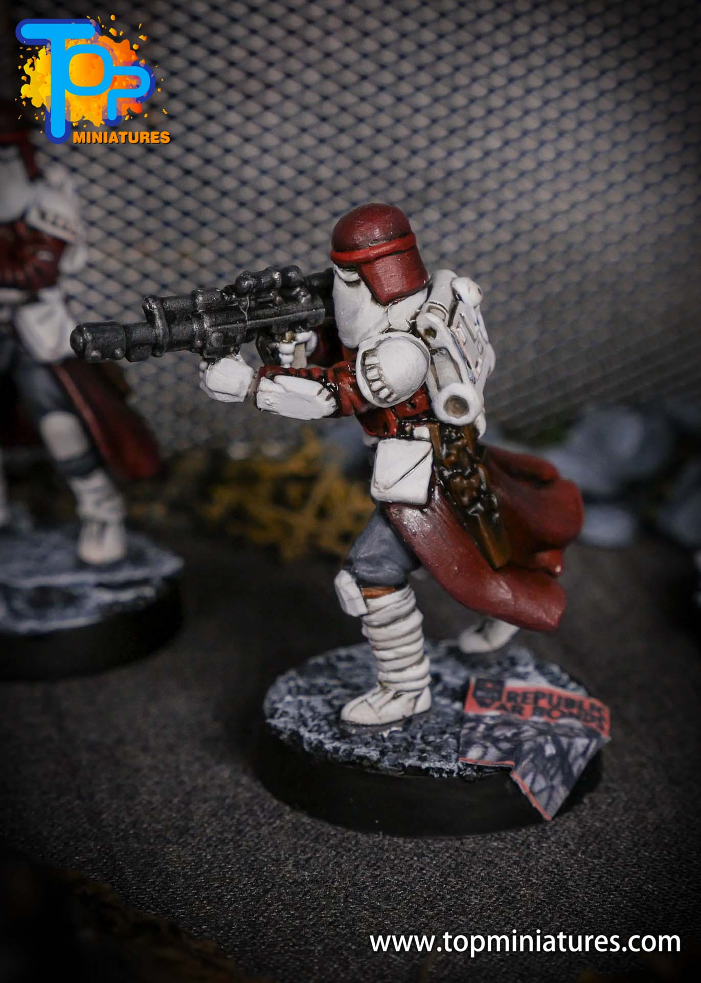 Star Wars Legion painted Snowtroopers (10)