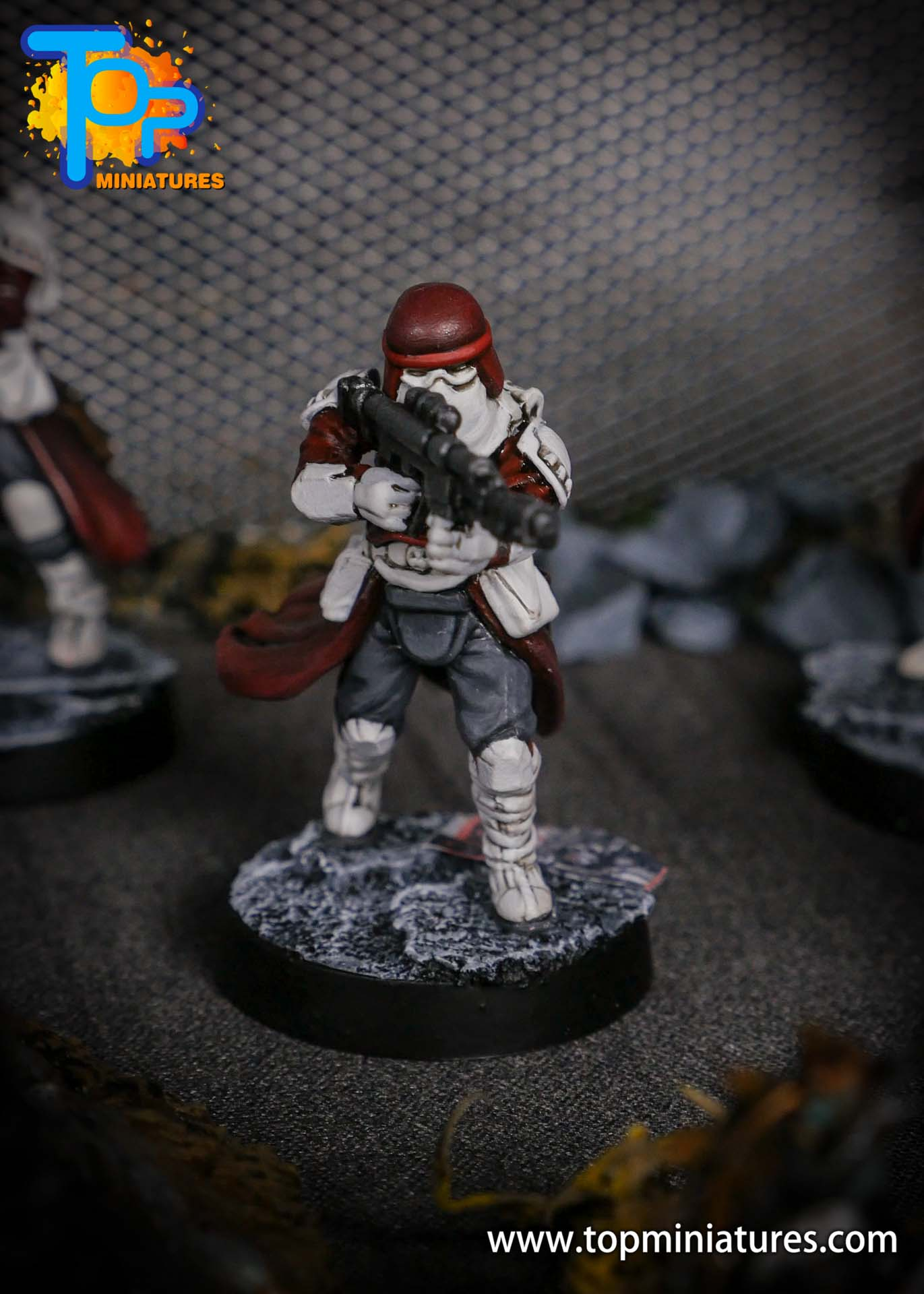 Star Wars Legion painted Snowtroopers (11)