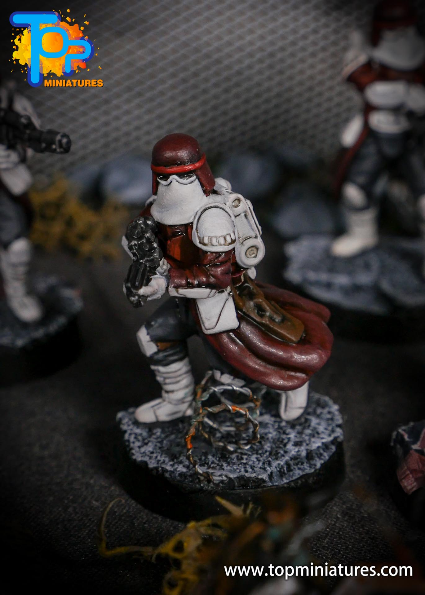 Star Wars Legion painted Snowtroopers (13)