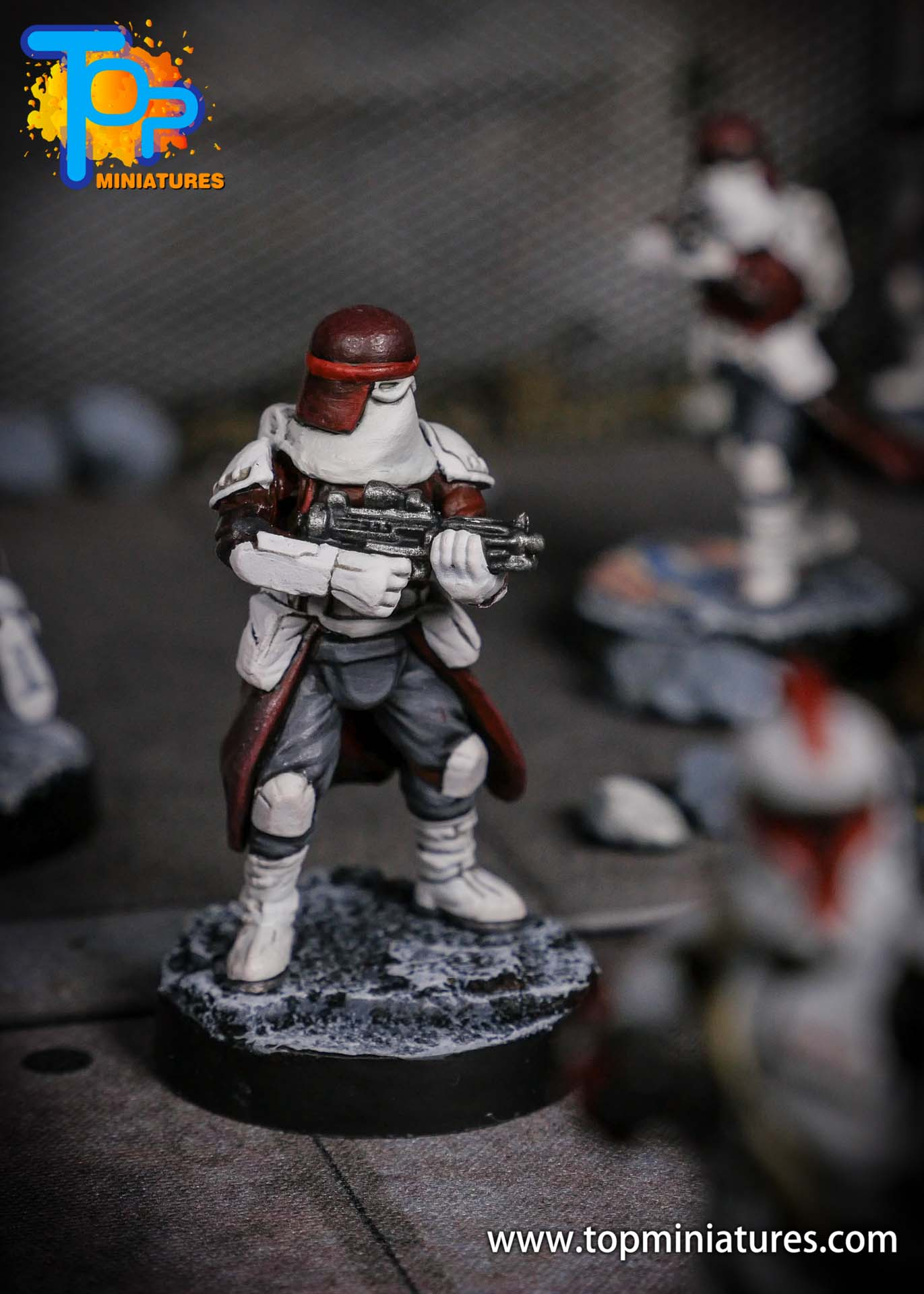 Star Wars Legion painted Snowtroopers (2)