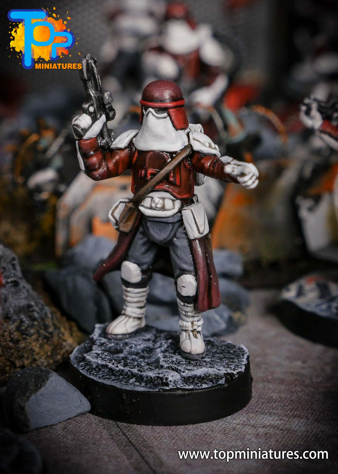 Star Wars Legion painted Snowtroopers (6)