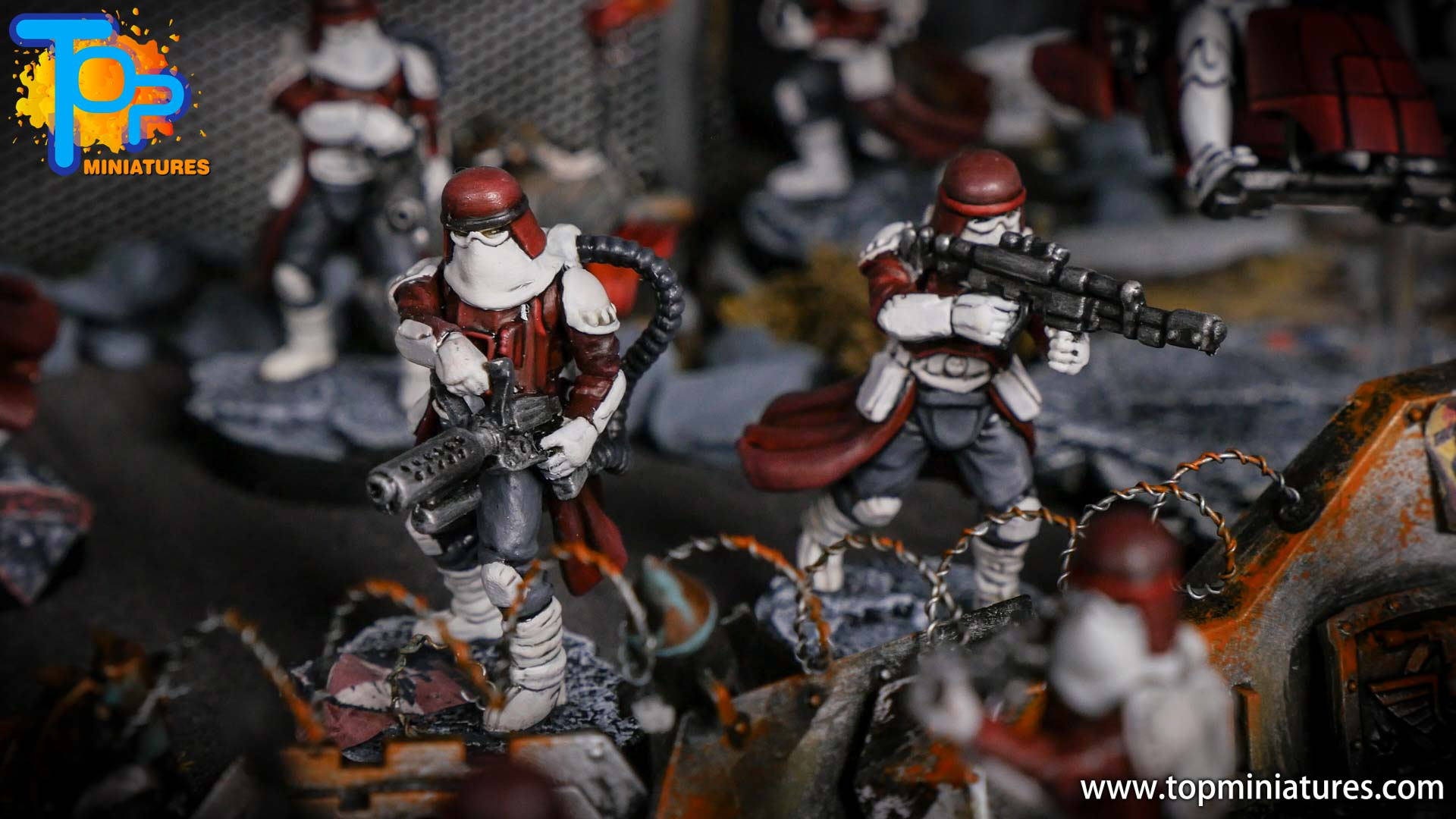 Star Wars Legion painted army (10)