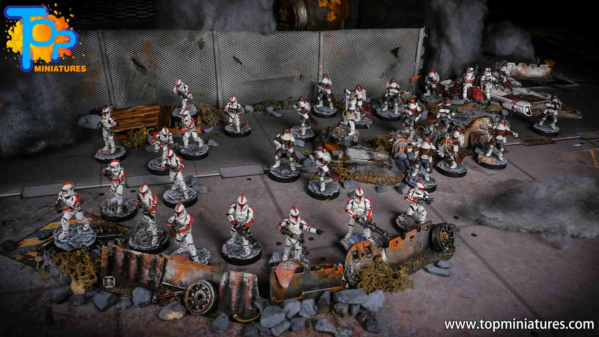 Star Wars Legion painted army (2)