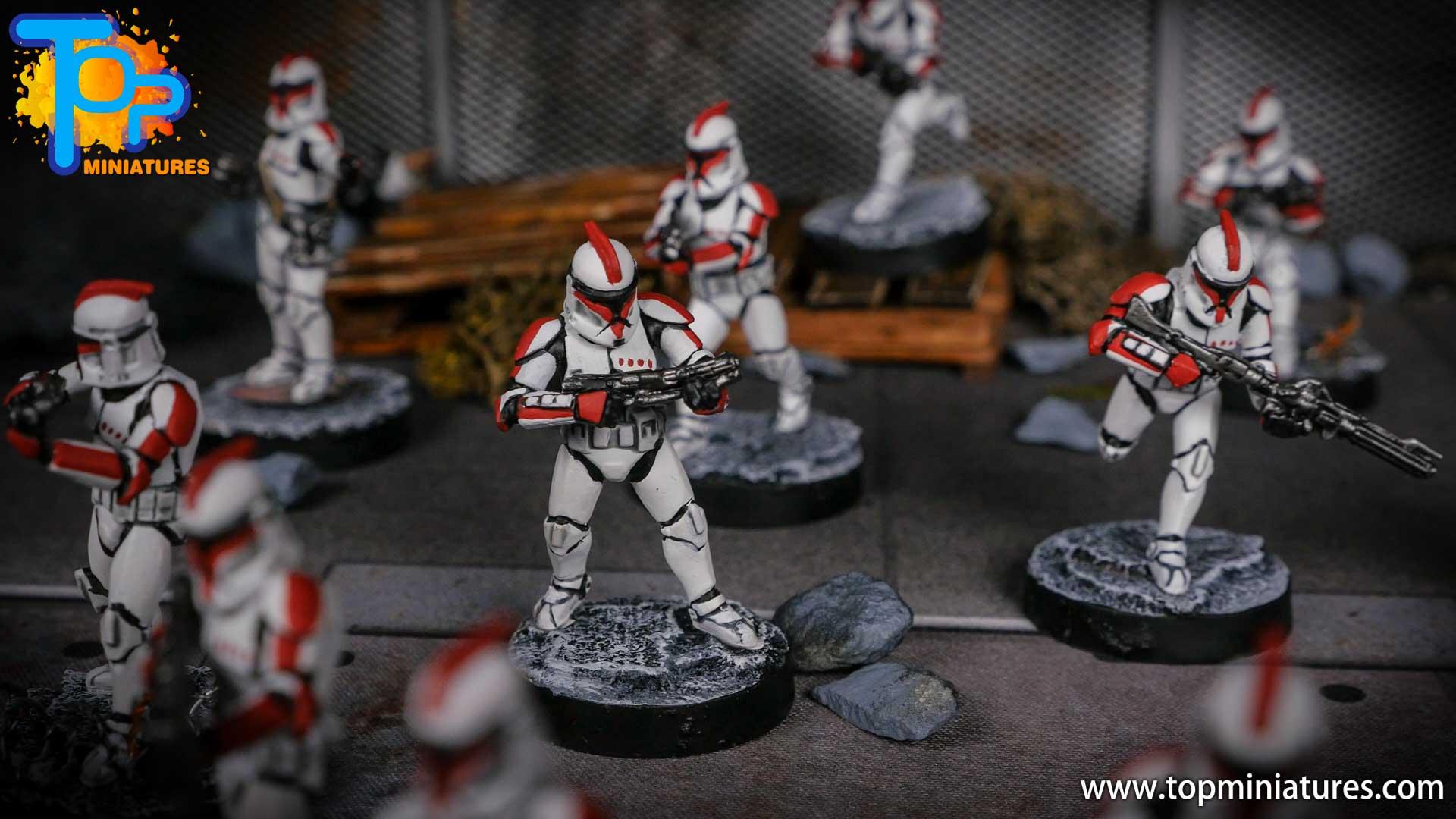 Star Wars Legion painted army (5)