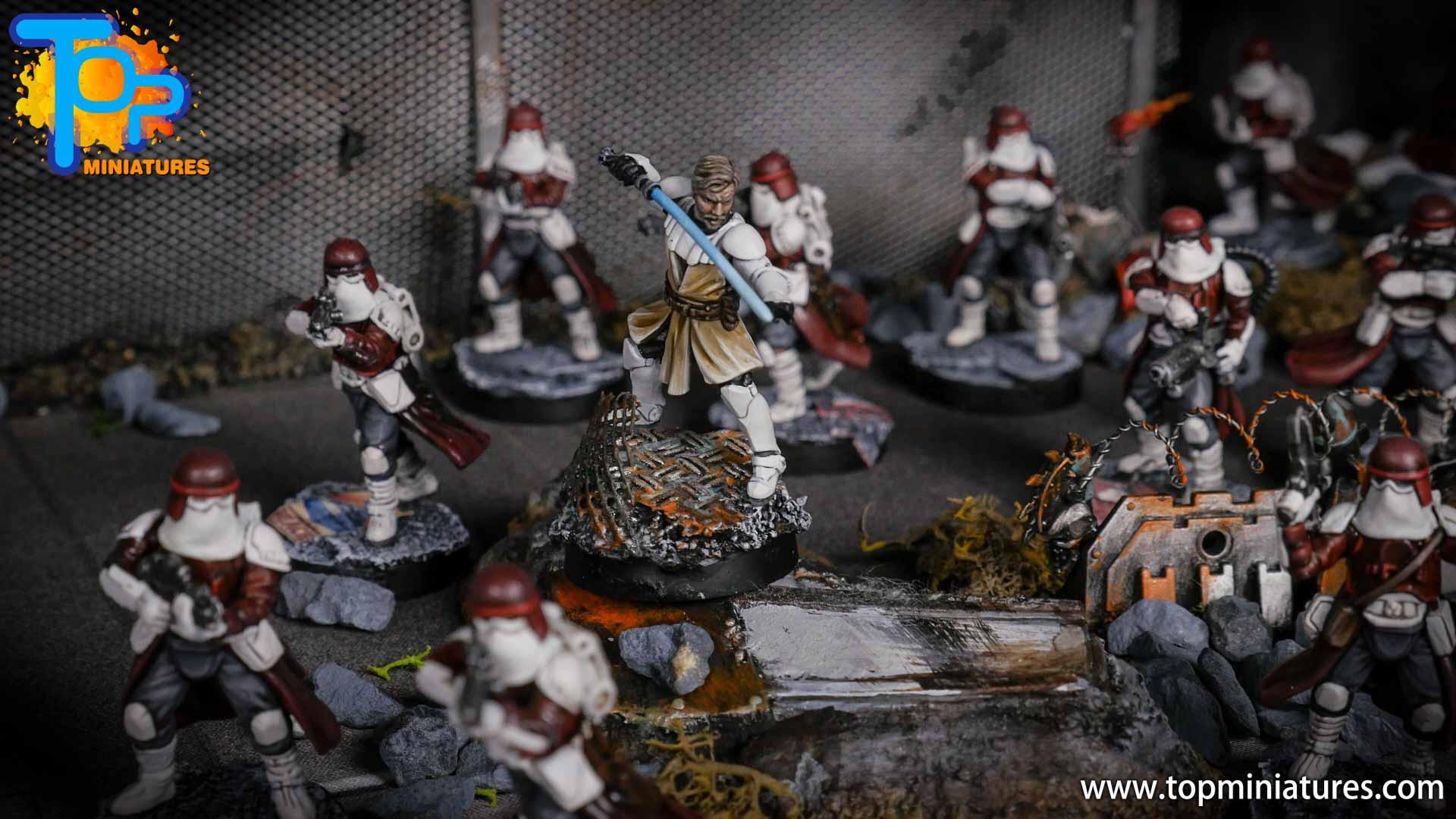 Star Wars Legion painted army (7)