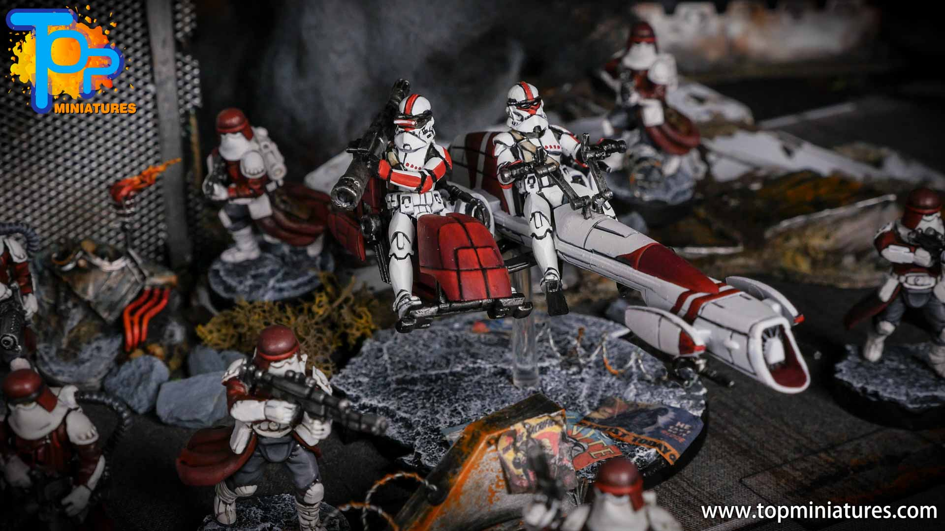 Star Wars Legion painted army (8)