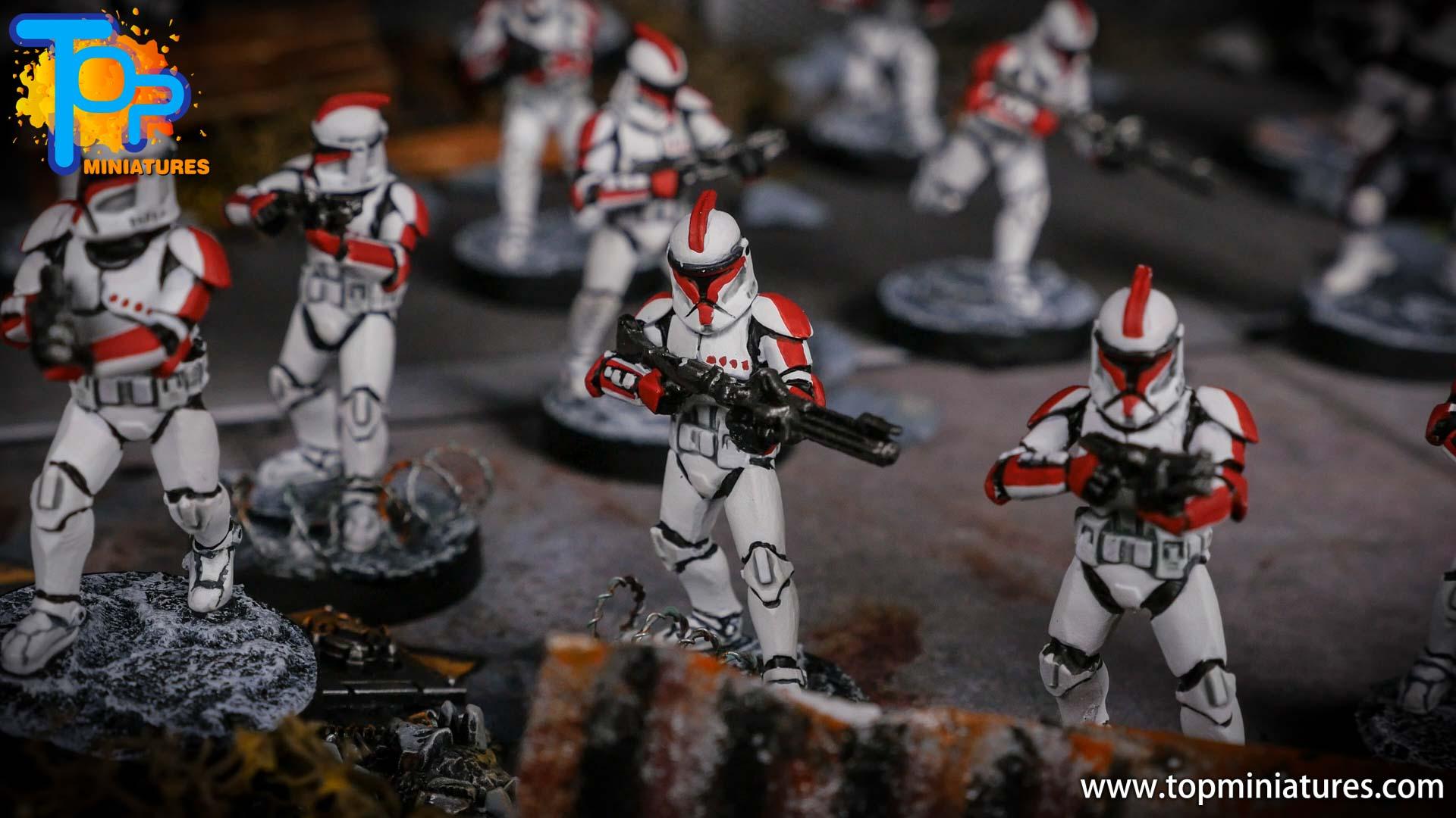Star Wars Legion painted army (9)