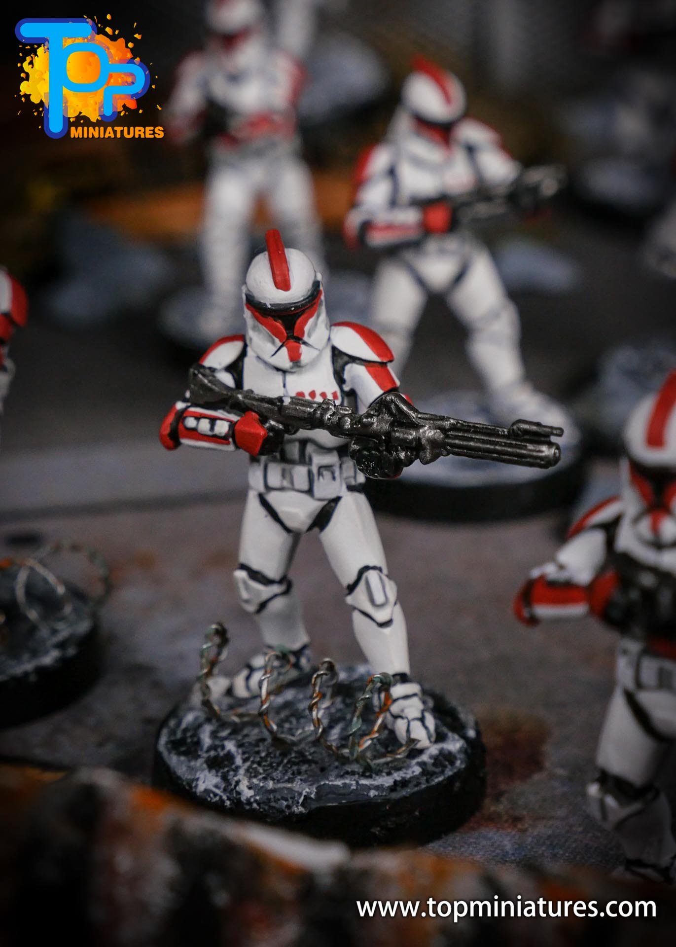 Star Wars Legion phase Clone Troopers (2)