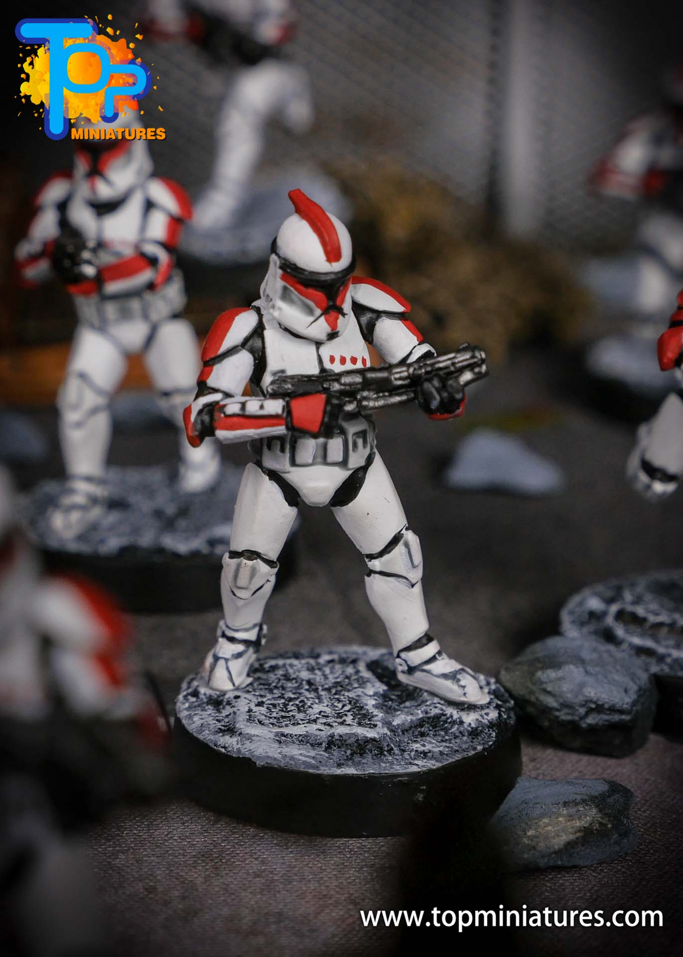 Star Wars Legion phase Clone Troopers (3)