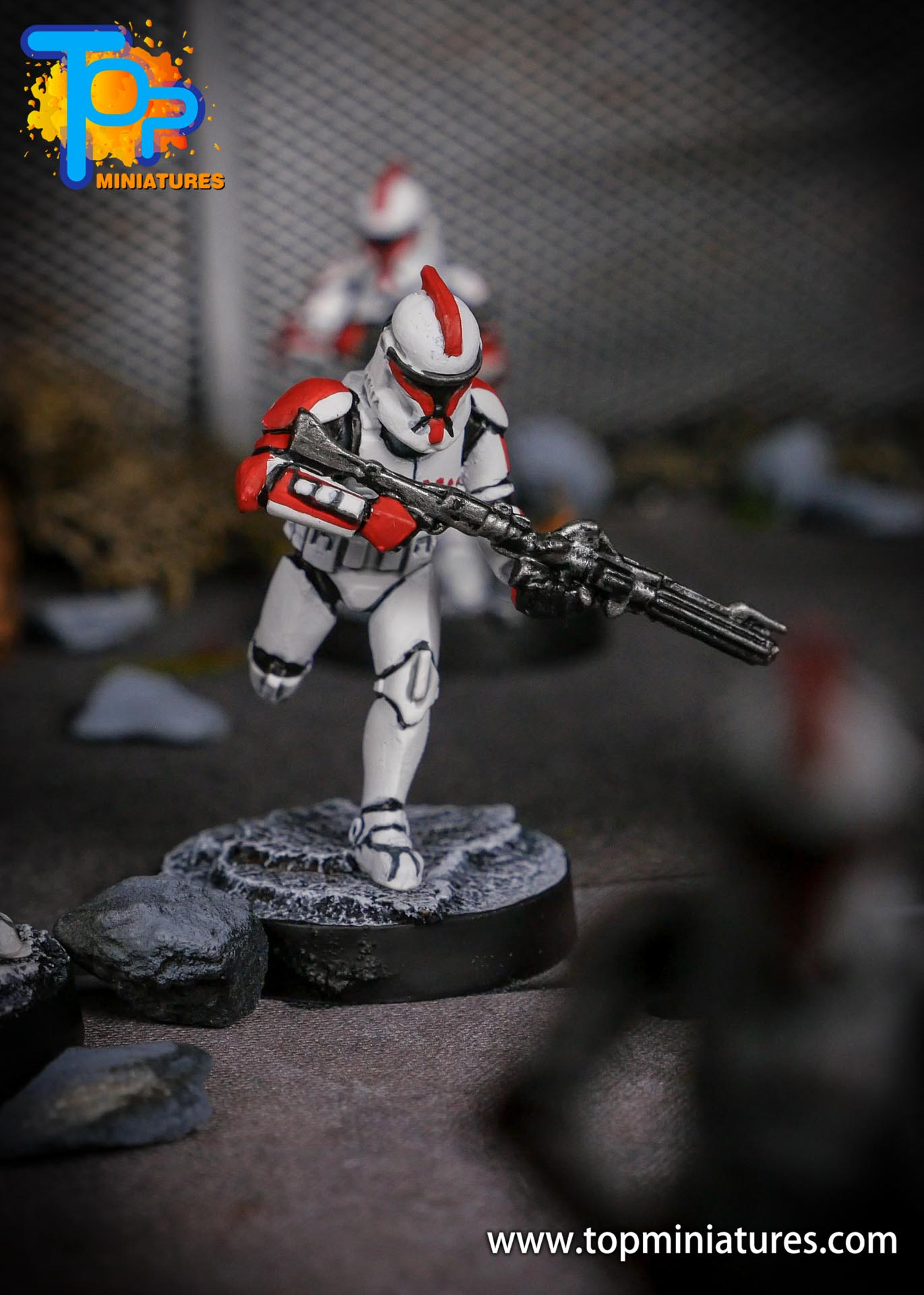 Star Wars Legion phase Clone Troopers (4)