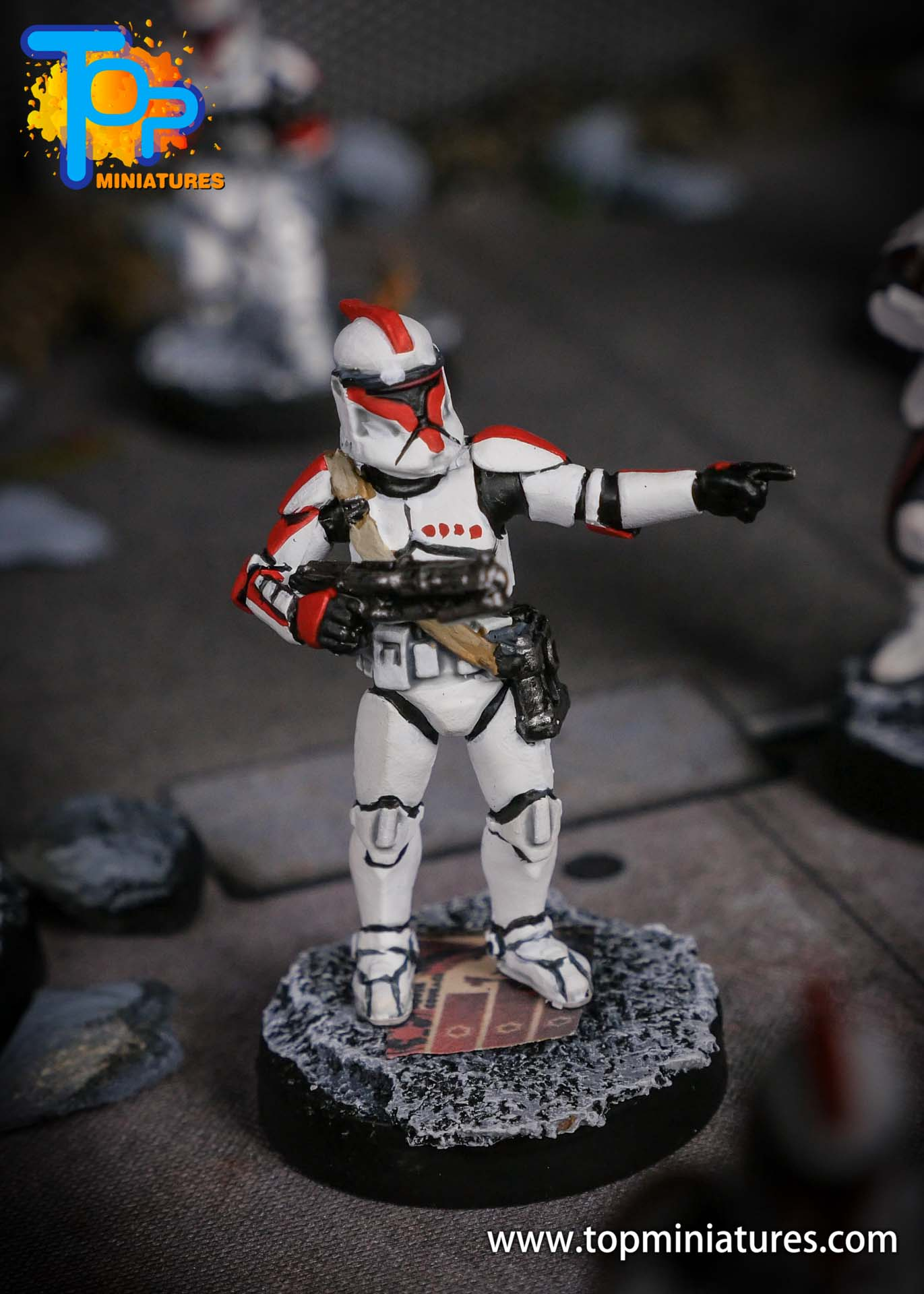 Star Wars Legion phase Clone Troopers (6)