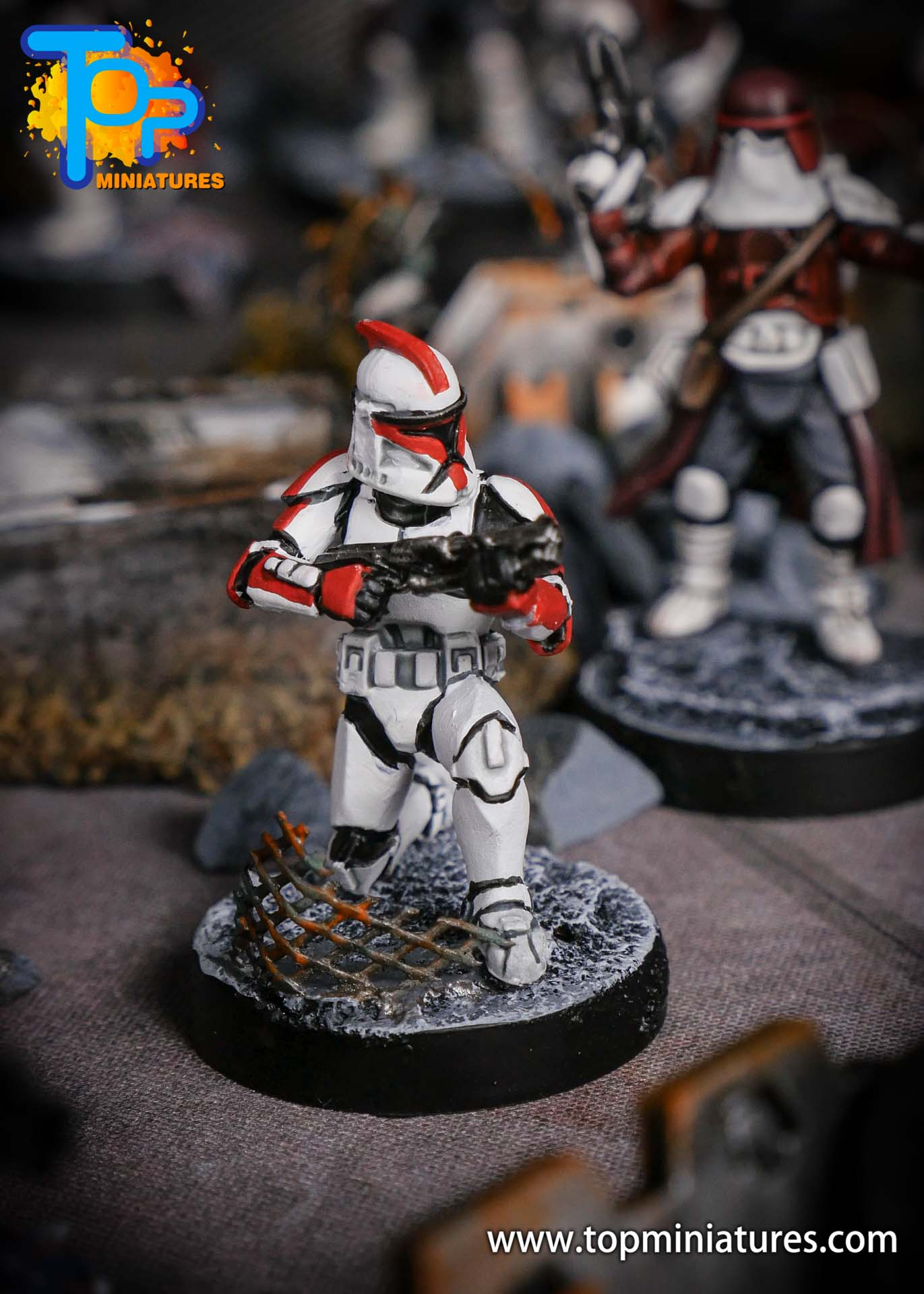 Star Wars Legion phase Clone Troopers (8)