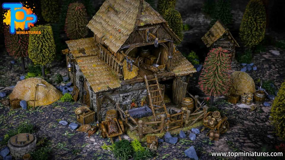 Tabletop World Stables