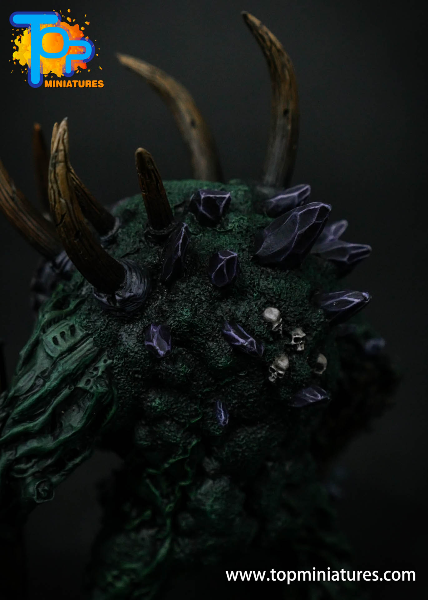 B'AHL'KCH'IN, ARMOURED BLIGHT BEAST Painted (10)