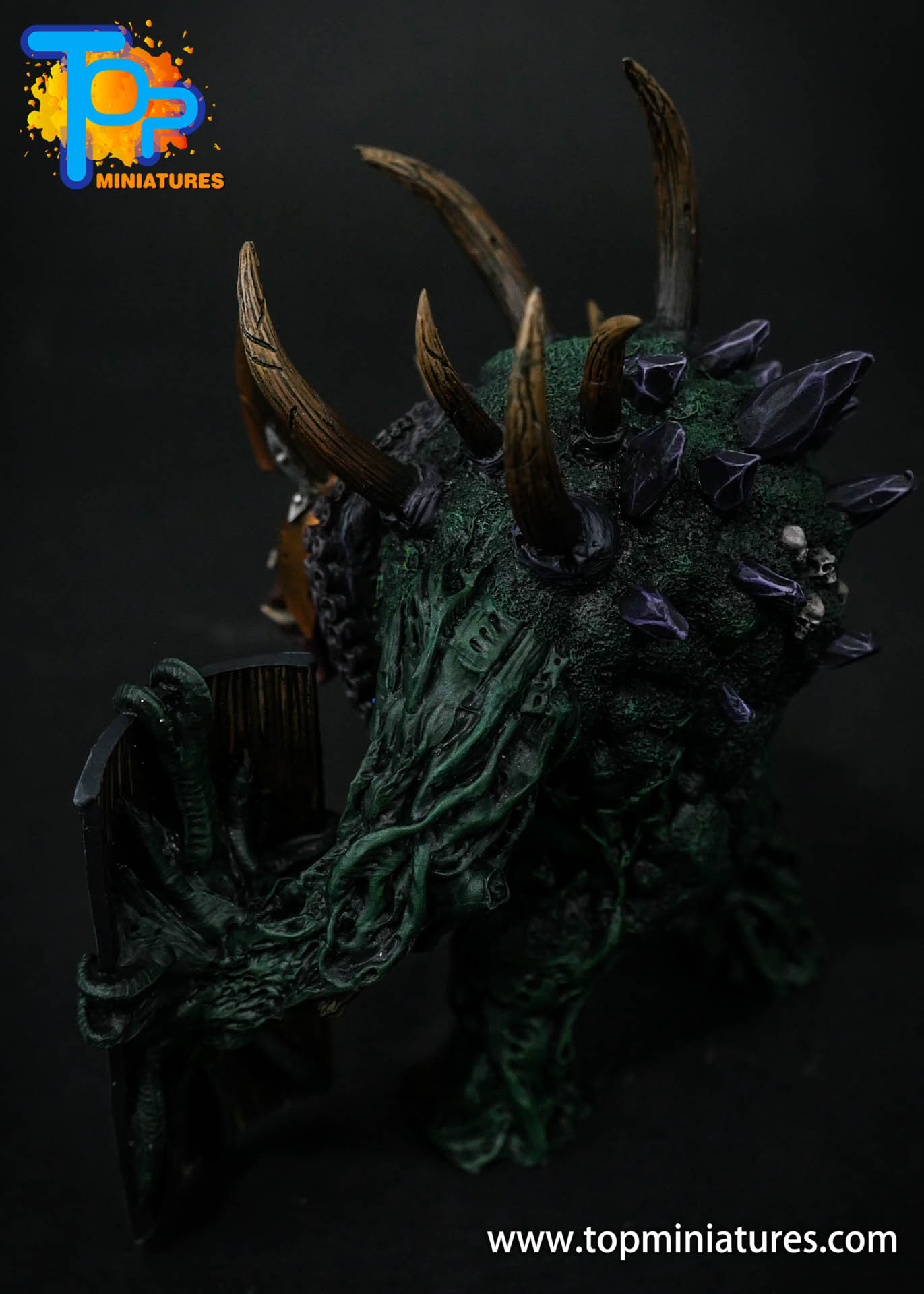 B'AHL'KCH'IN, ARMOURED BLIGHT BEAST Painted (12)