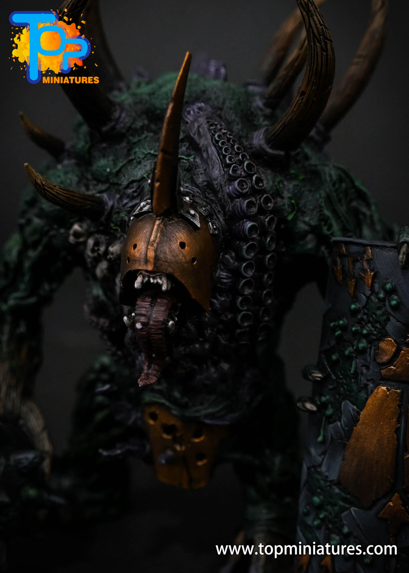 B'AHL'KCH'IN, ARMOURED BLIGHT BEAST Painted (4)