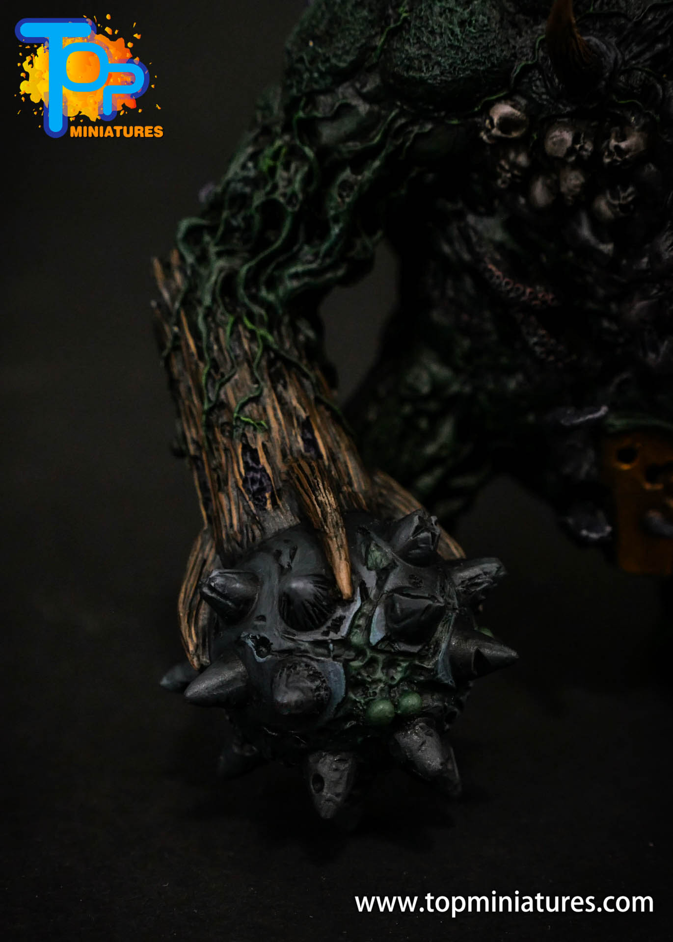 B'AHL'KCH'IN, ARMOURED BLIGHT BEAST Painted (5)