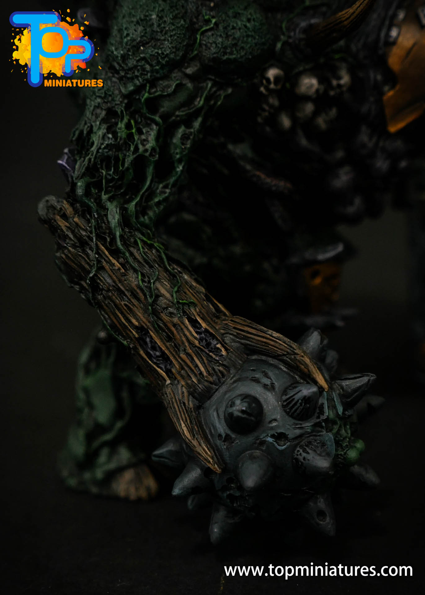 B'AHL'KCH'IN, ARMOURED BLIGHT BEAST Painted (7)