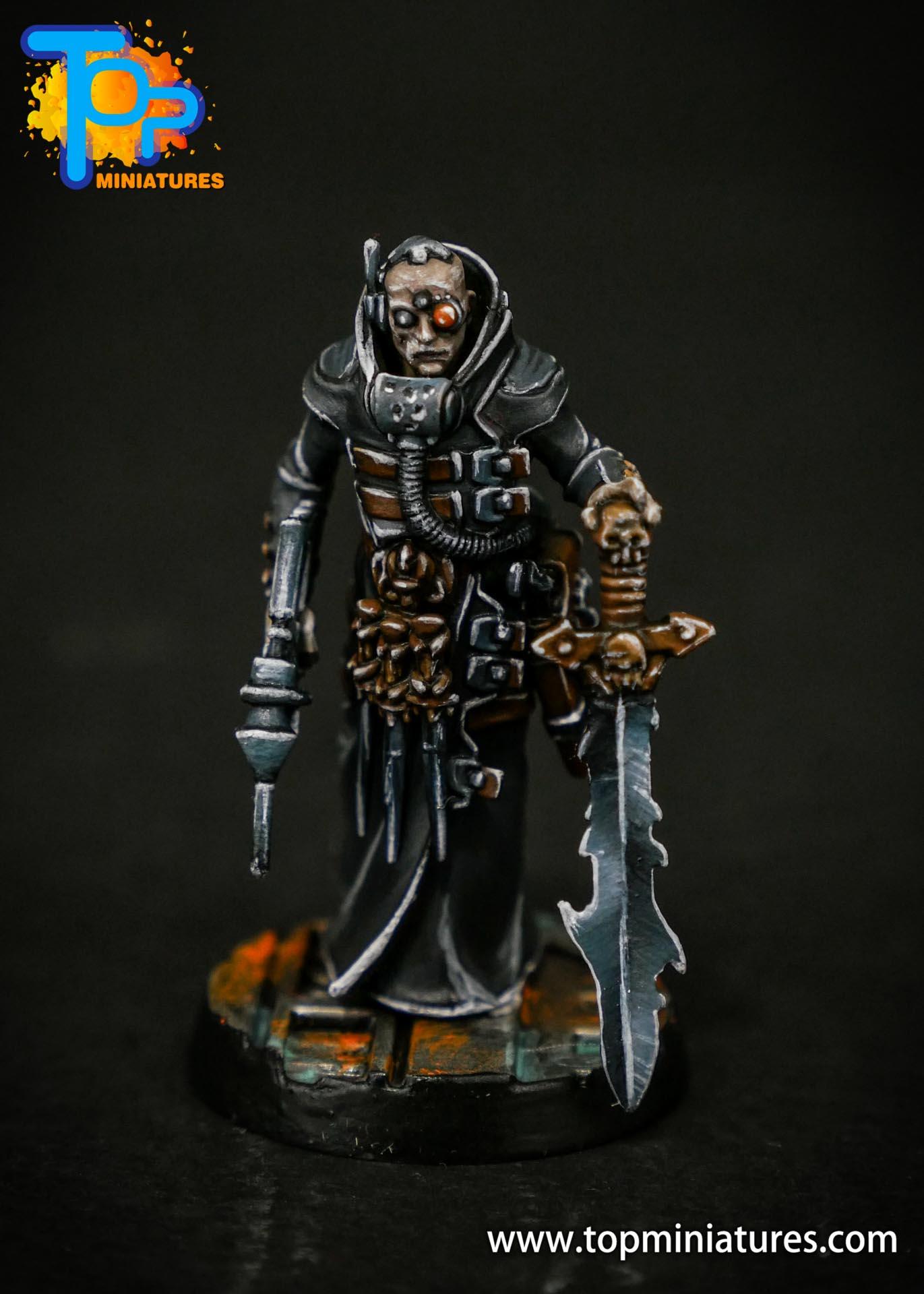 House Delaque inquisitor conversion (2)