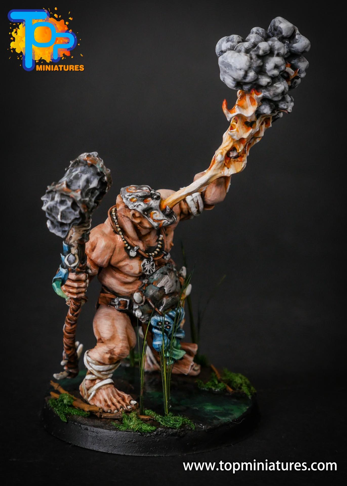 Ogor Mawtribes swamp base Firebelly (4)