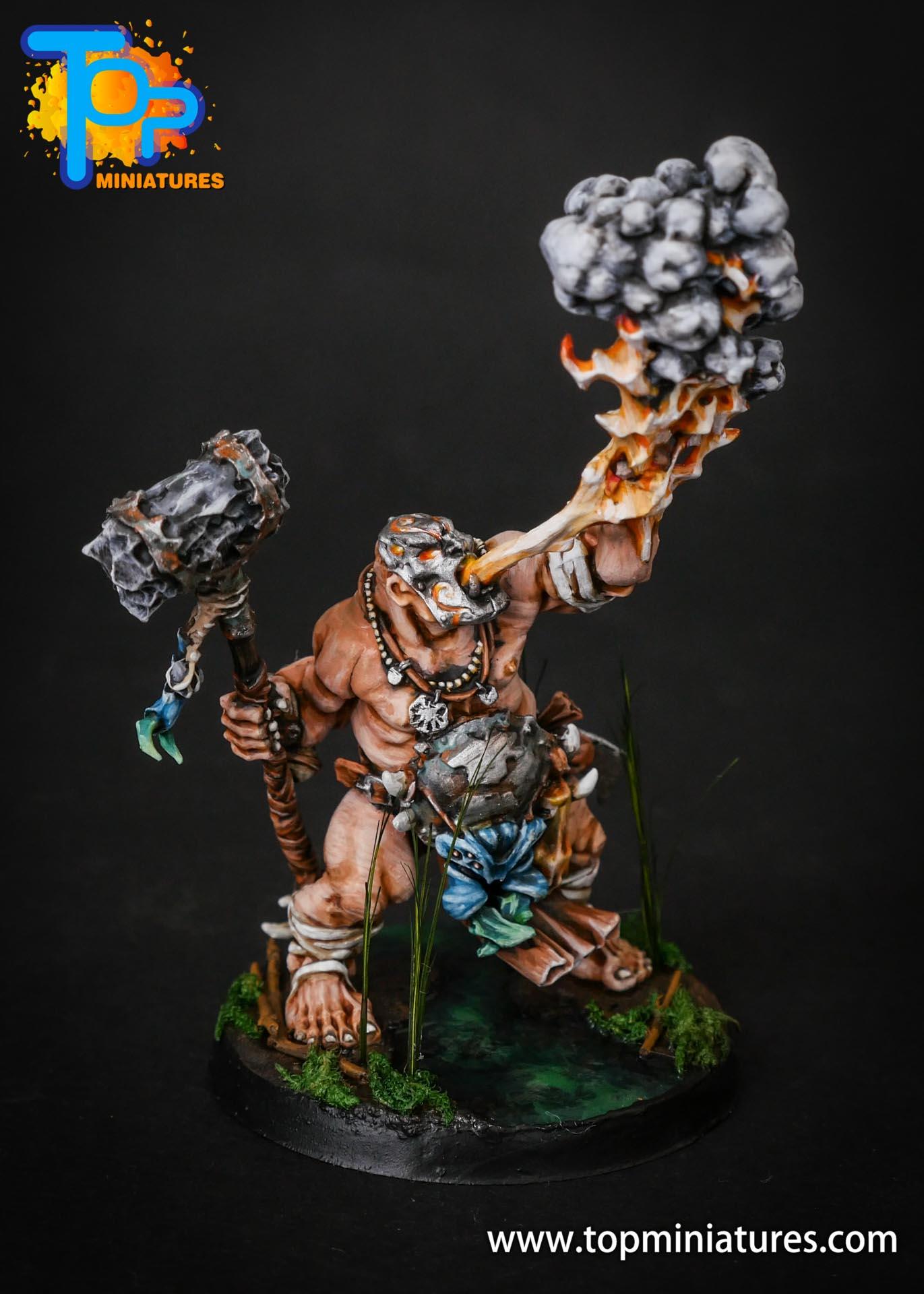 Ogor Mawtribes swamp base Firebelly (6)